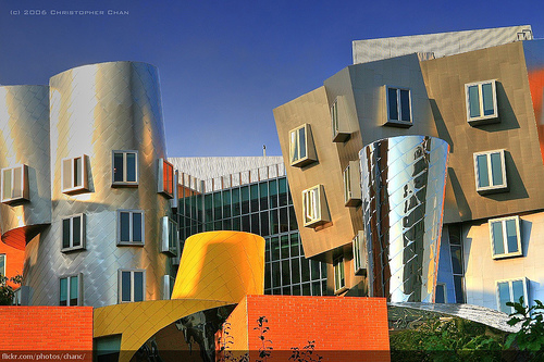 Stata Center, MIT photo by Christopher Chan taken from Flickr and used under cc licence