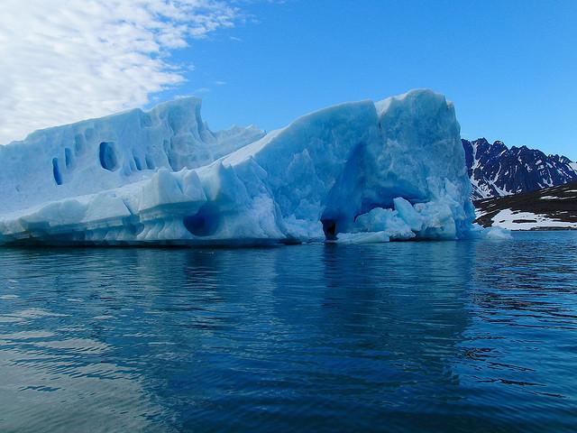 Svalbard ice