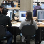 Students at work on Level 3