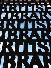 Photo pf British Library gate by pshab