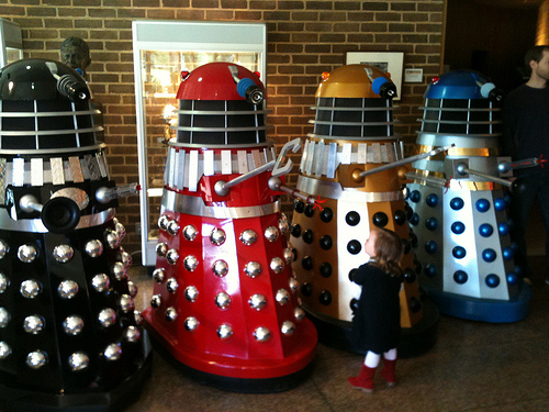 daleks by rose holley