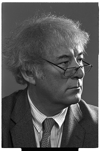 Seamus Heaney from the Burns Library Boston College