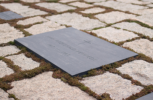 JFK grave at Arlington Cemetary by Shireen Garcia