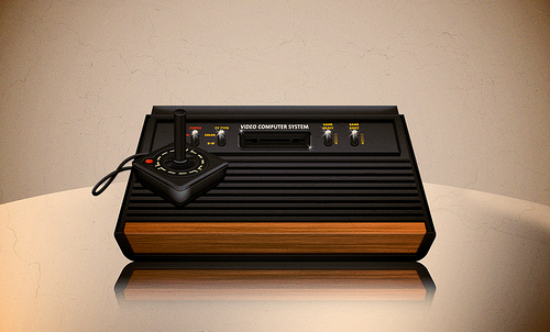 Atari console by Alan Klim