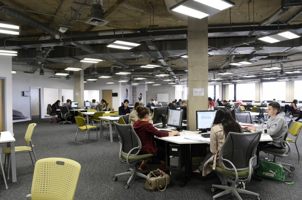 Pilkington library after refurbishment