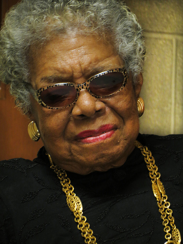 maya angelou by york college
