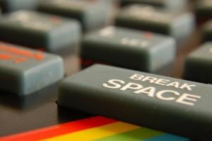 spectrum basic keyboard by matt  and kim rudge