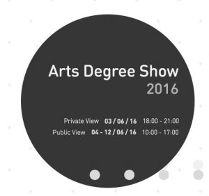 arts degree show