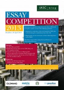 UKSC essay competition