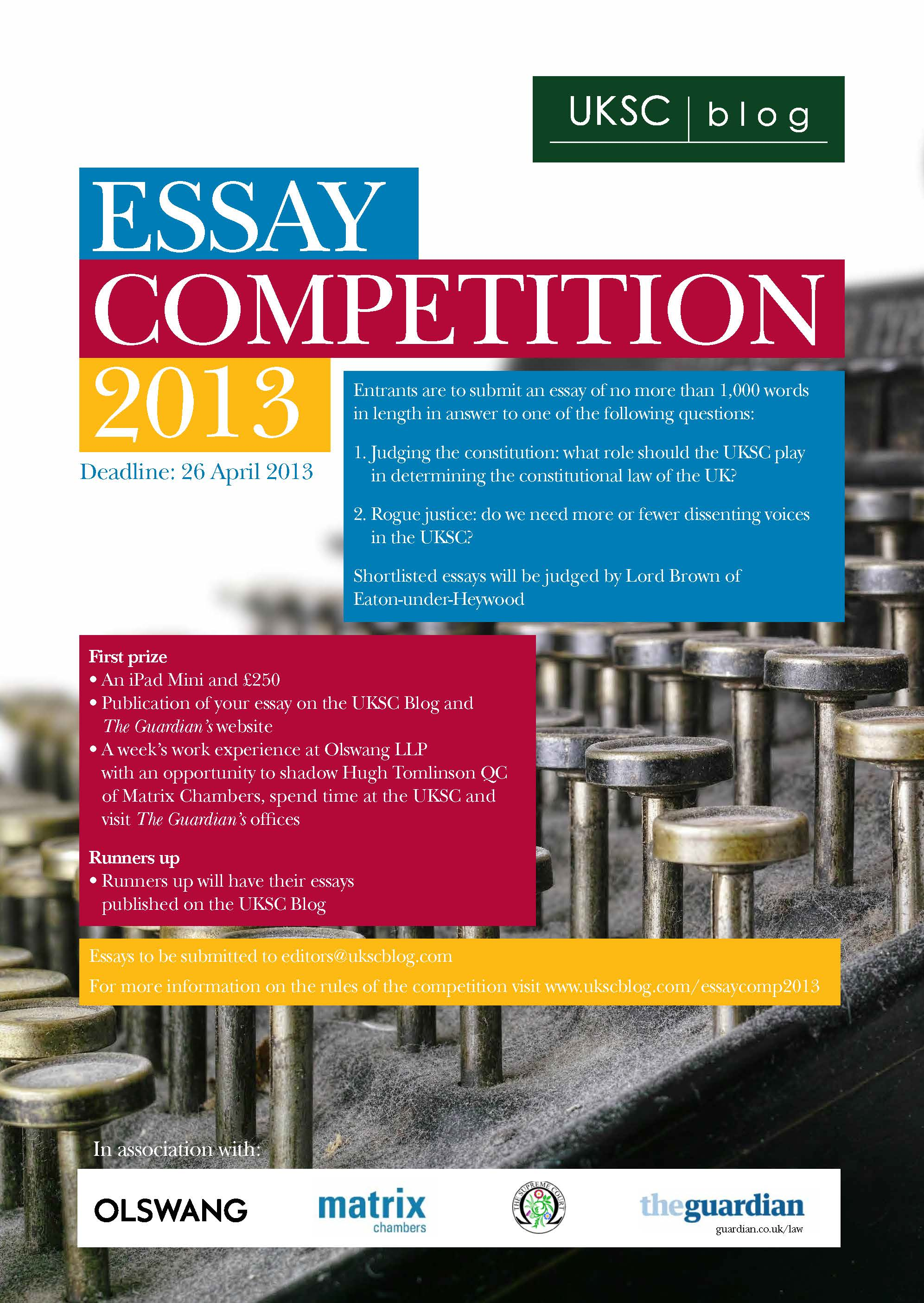 uksc blog competition careers and employability blogcareers and uksc essay competition
