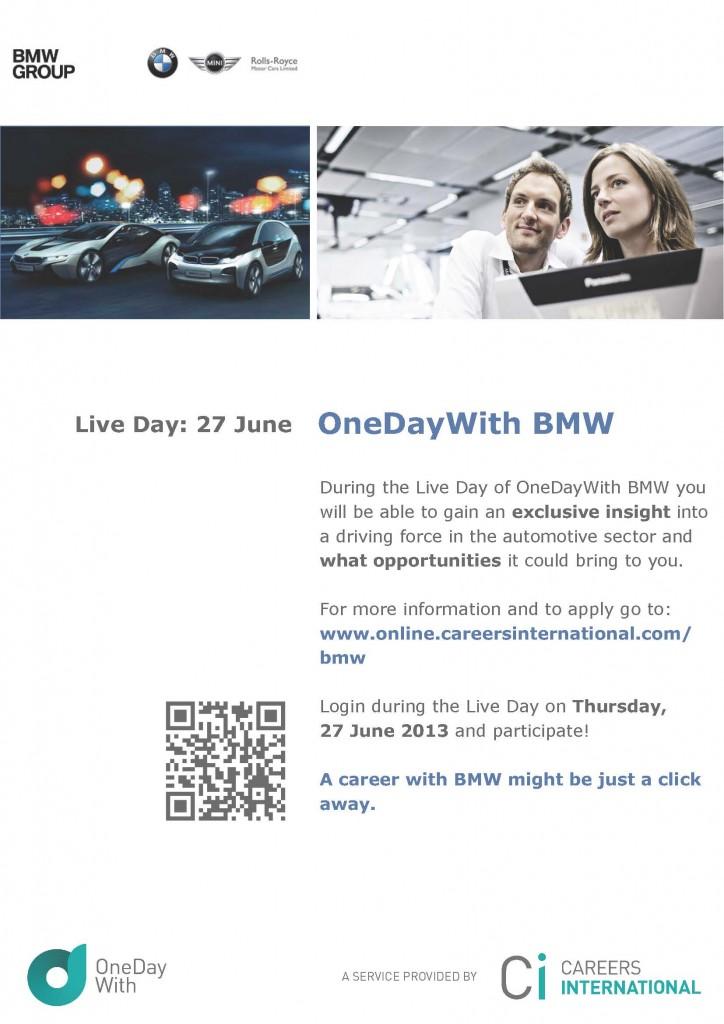 OneDayWith BMW