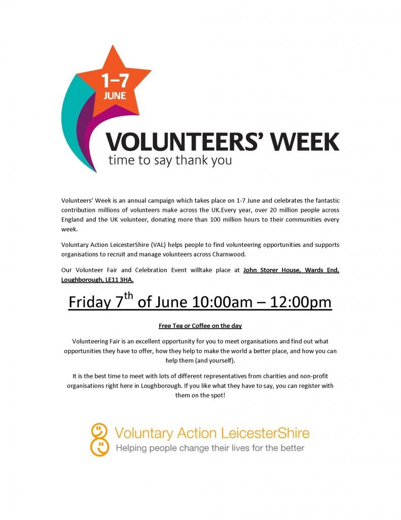 Volunteers Fair and Celebration Event