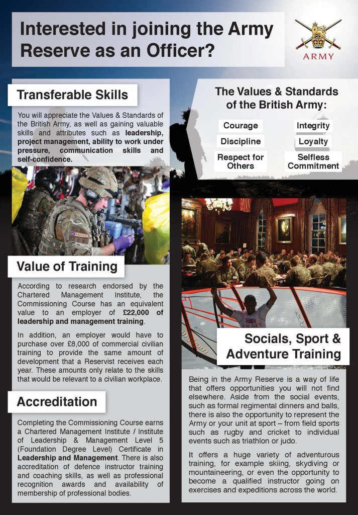 Army Reserve Officer Recruiting Team Summary _Page_1