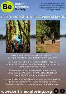 British Exploring Amazon 2015 Flyer