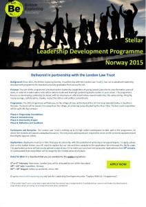 Stellar 2015 University Flyer