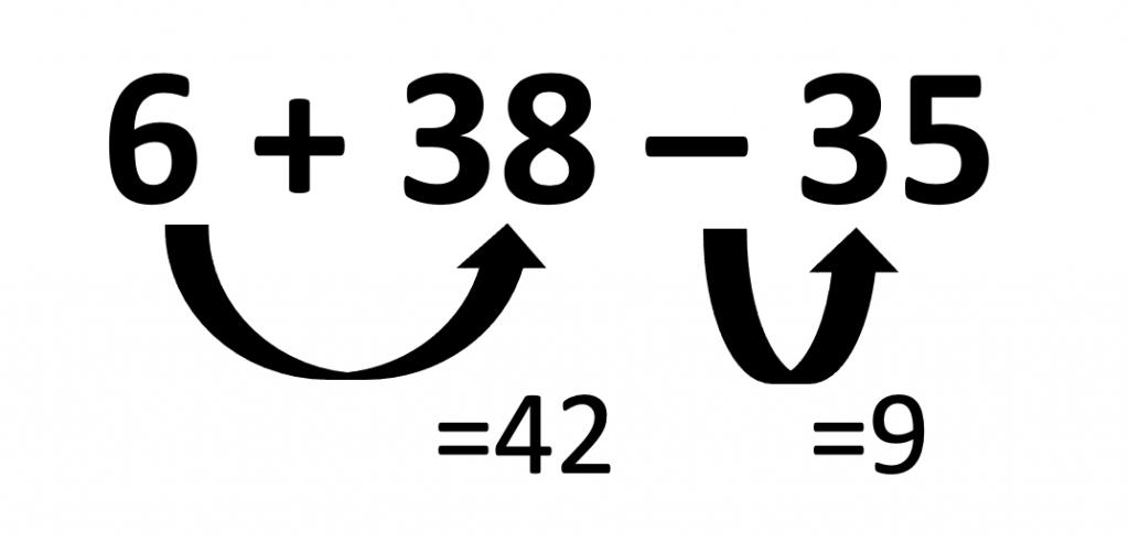 6+38-35