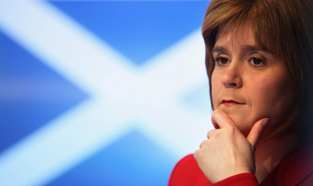 Nicola Sturgeon was the fourth most prominent individual in the campaign (being mentioned in 5.7% of all items)