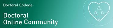 Doctoral Online Community banner