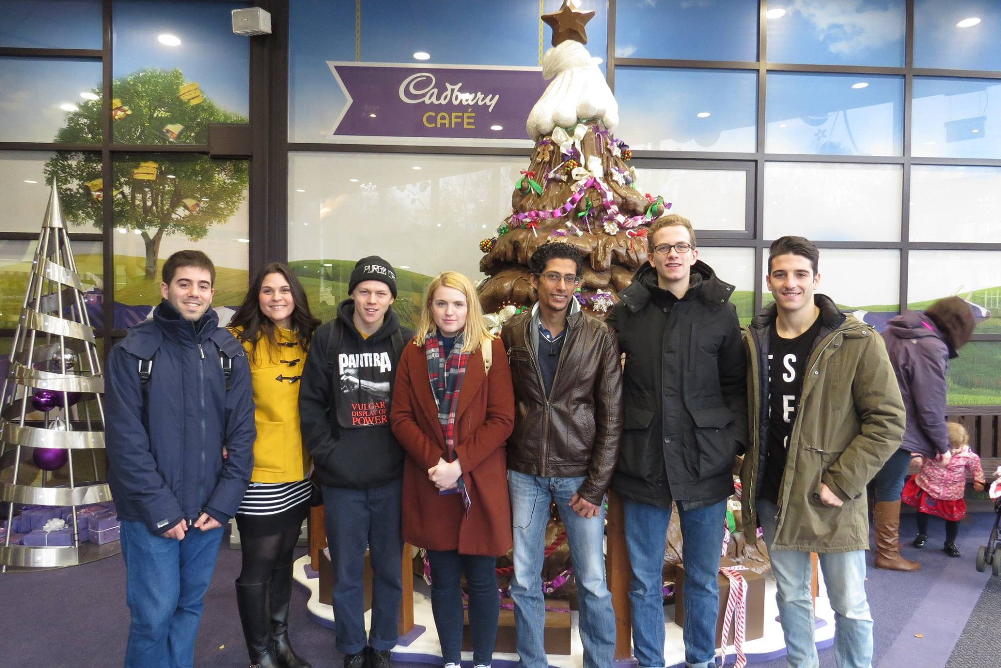 Loughborough University Students at Cadbury World