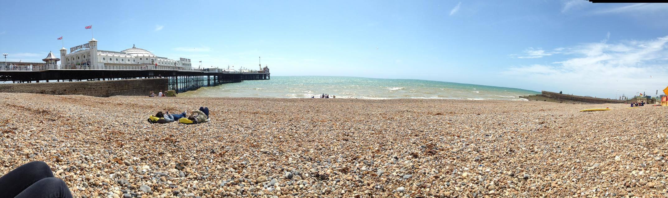 Brighton shore