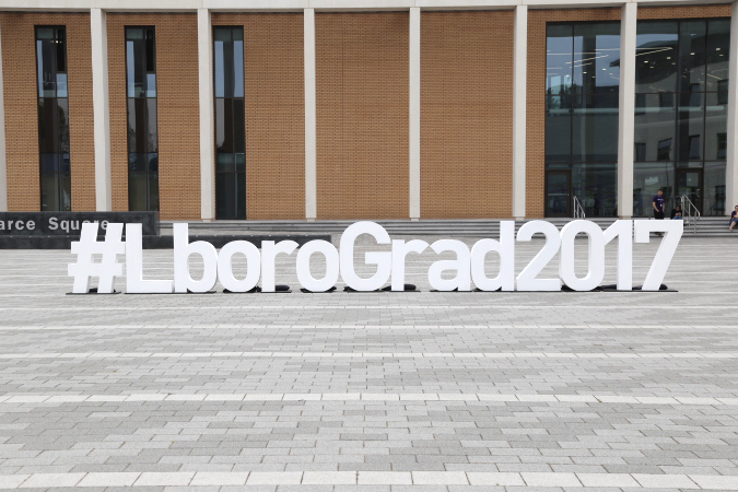 Loughborough University summer graduation