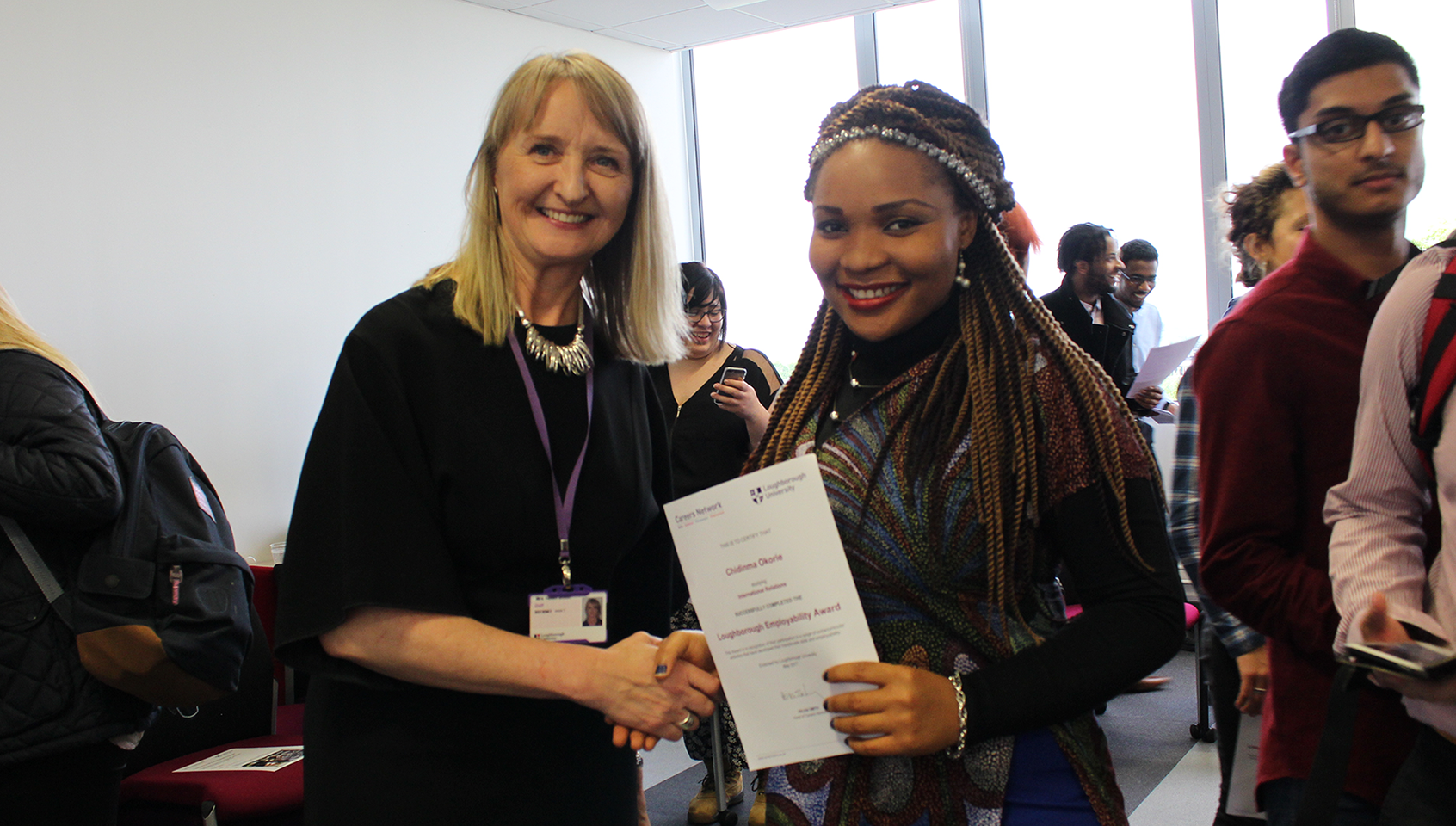My Experience as a Recipient of the Loughborough Employability Award