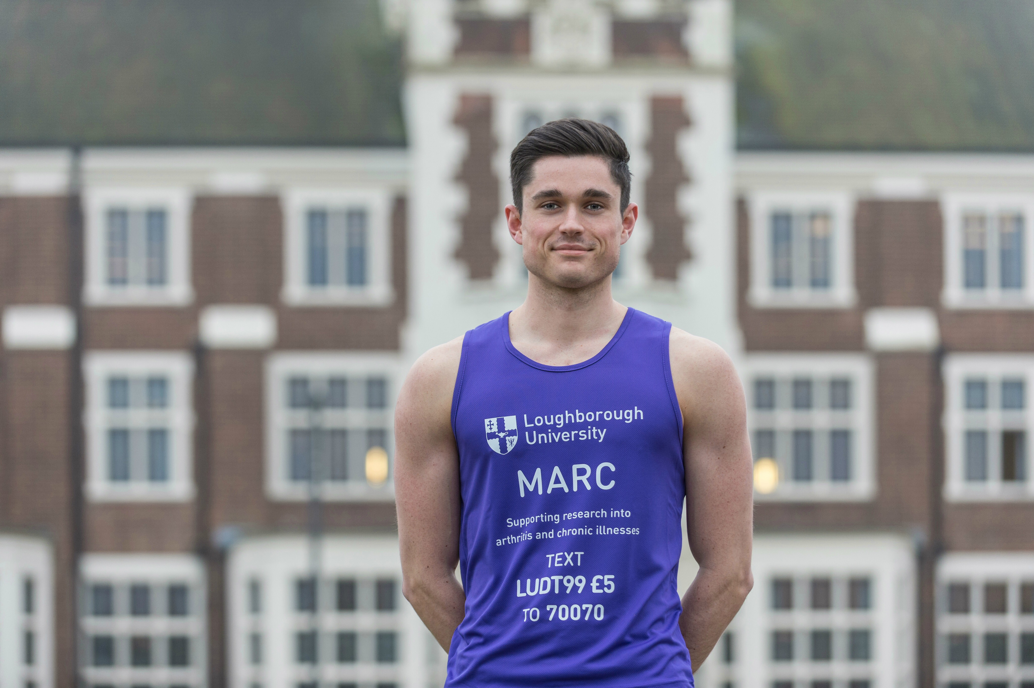 Staff member and graduate to run London Marathon for Loughborough research