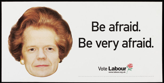 Labour Party campaign poster from 2001