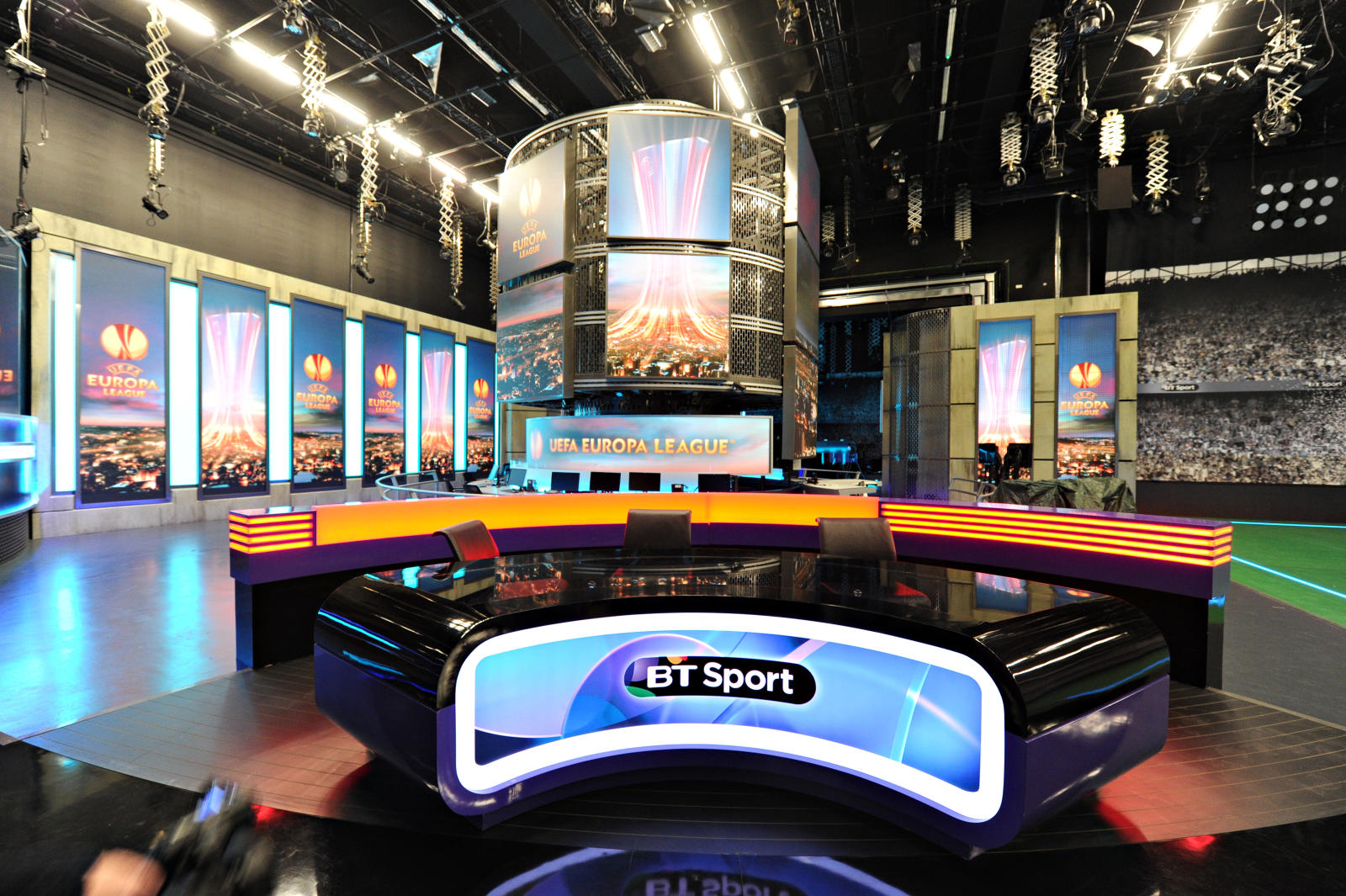bt sport studio tour