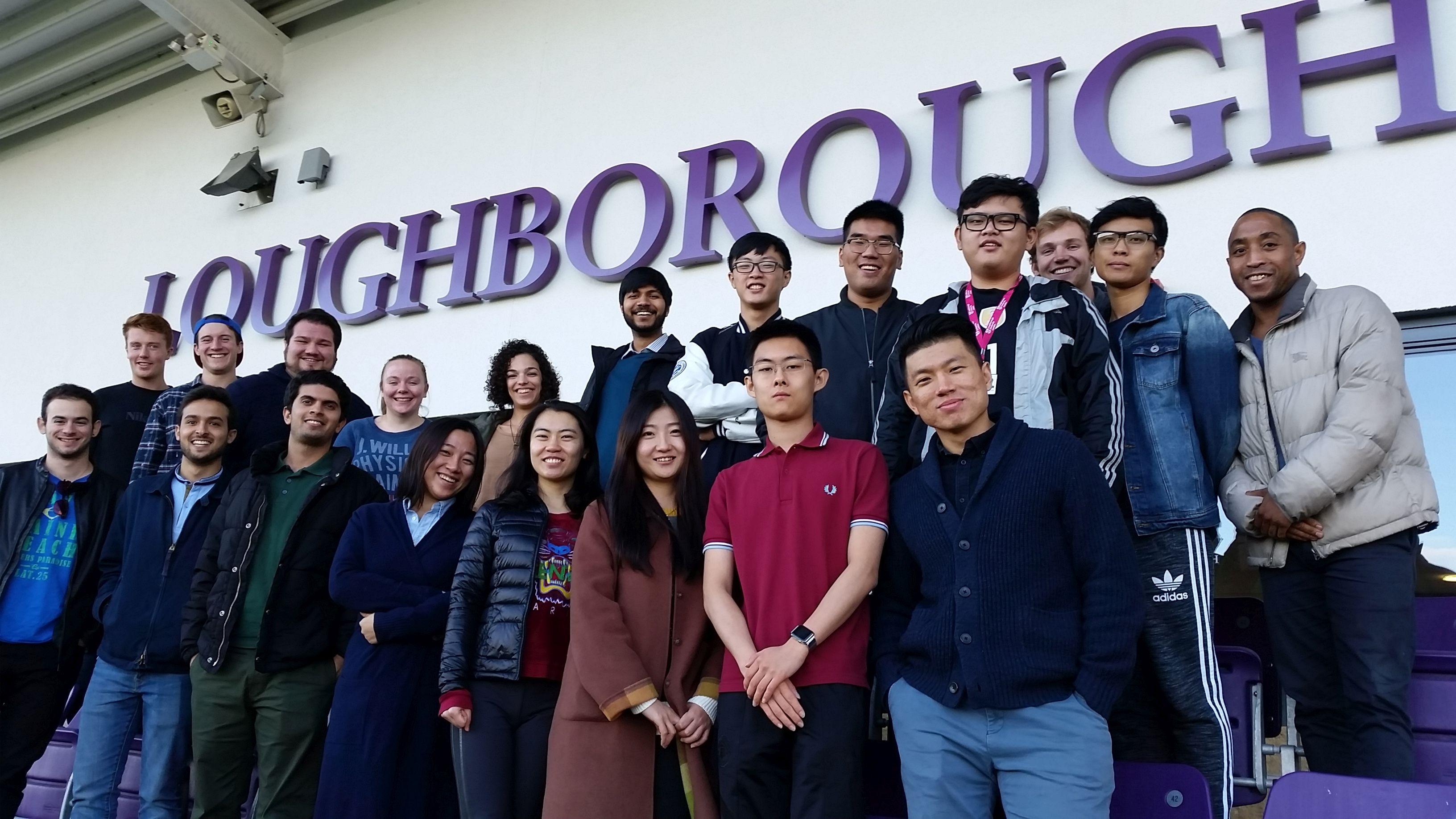 Sport Business and Leadership site visit to Loughborough University