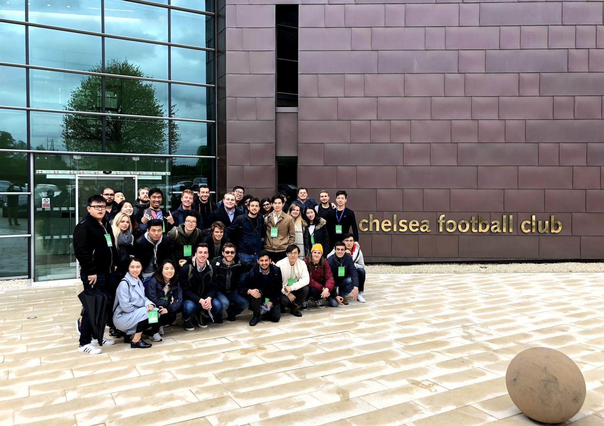 Chelsea FC Academy Visit