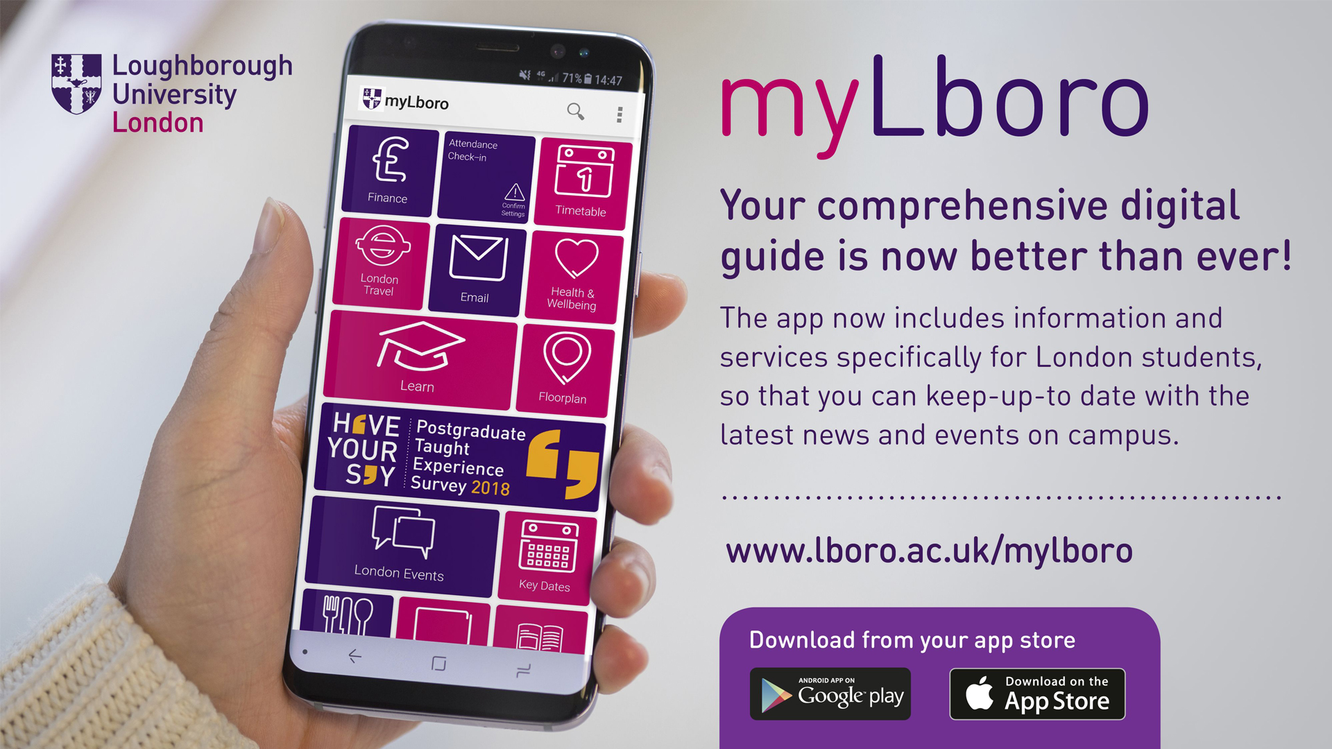 5 reasons why you should download the myLboro app