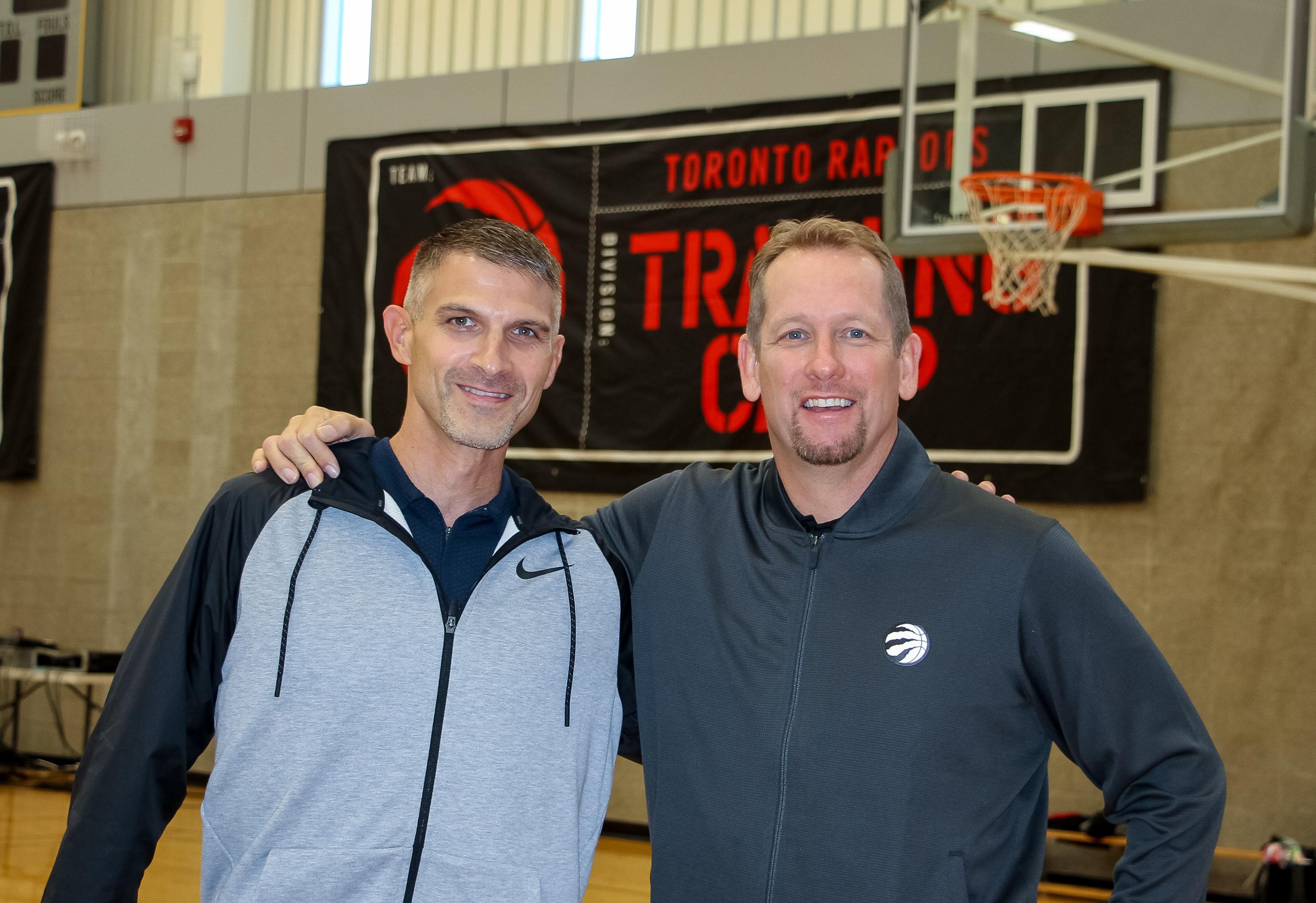 Sport Business academic visits Toronto Raptors training camp