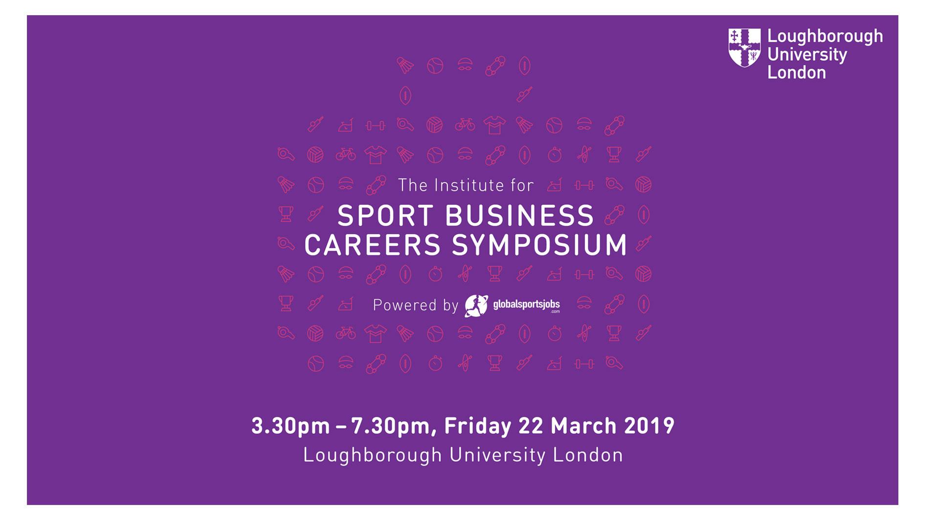 Institute for Sport Business Careers Symposium