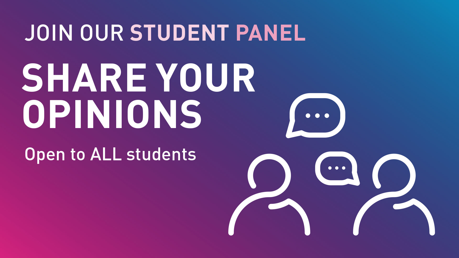 Join the student panel