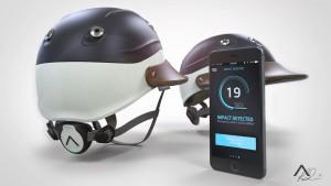 Armis Polo Helmet & App student invention by Robin Spicer