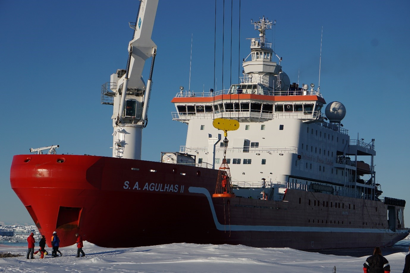 Weddell Sea Expedition: Science programme complete
