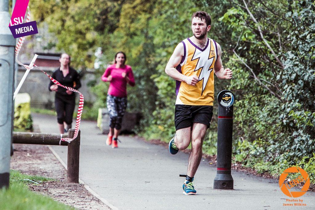 Triathlon - Luke run