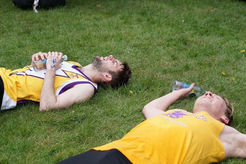 Triathlon - finish line