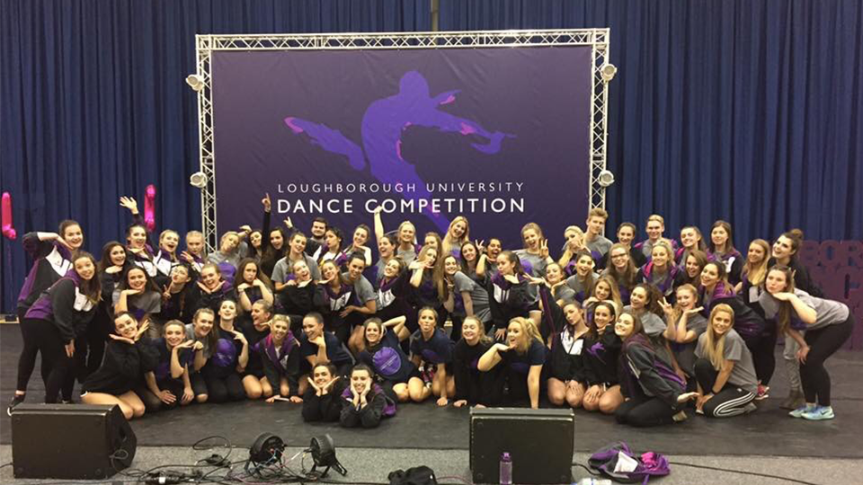 The unstoppable Loughborough Students Dance Club