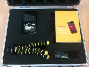 Kodak mini camcorder kit
