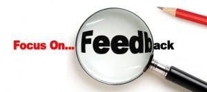 Focus on feedback
