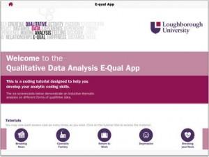E-Qual App Screenshot
