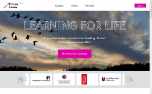 Futurelearn Website
