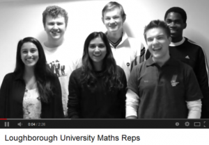 Maths student representatives