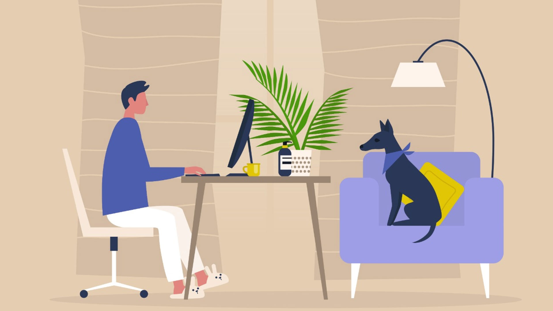 Lockdown life: Top tips for creating workspaces at home that boost productivity and creativity