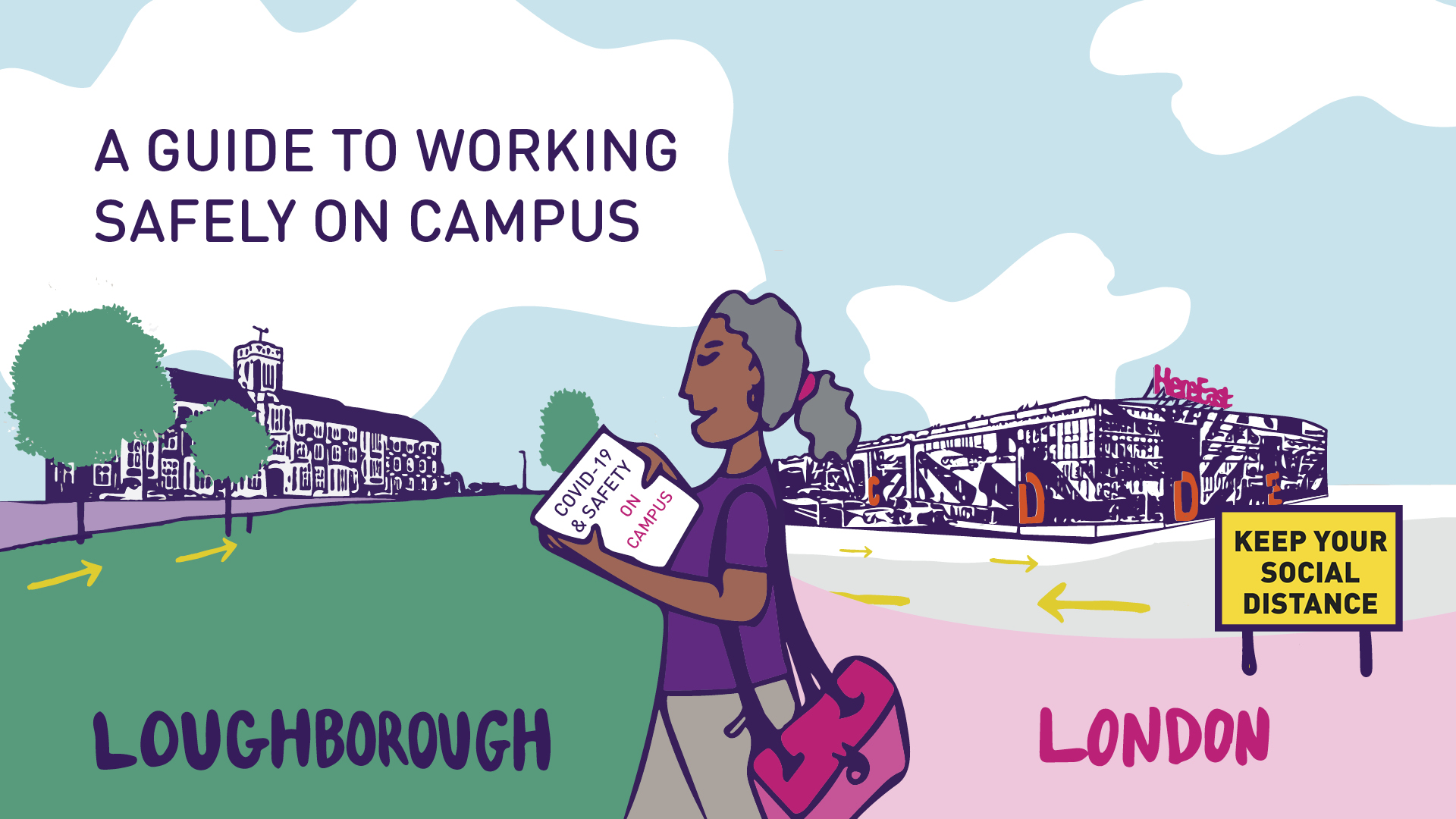 A guide to working safely on our campuses